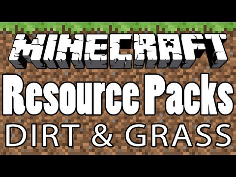Minecraft - How to Make HD DIRT and GRASS Textures [Texture/Resource Pack TUTORIAL #5]