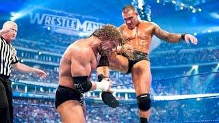 WWE - Triple H vs Randy Orton - Wrestlemania 25 Highlights [HD]