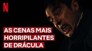 Alerta de Spoiler: As cenas mais horripilantes de Drácula!| NETFLIX