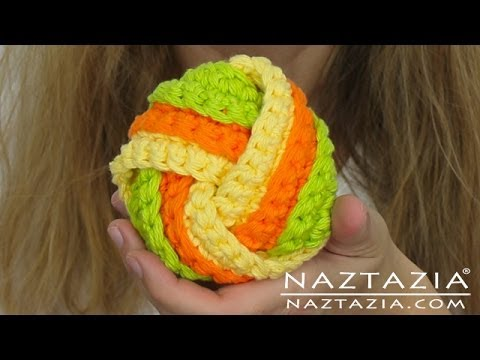 Learn How to Crochet & Knit Twisted Scrubbie (Scrubbies, Scrubbers, Tawashi, Chinese Knot Knots)