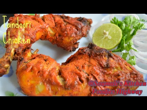 How to Prepare Tandoori Chicken Recipe in Oven | Roasted Chicken leg Recipe