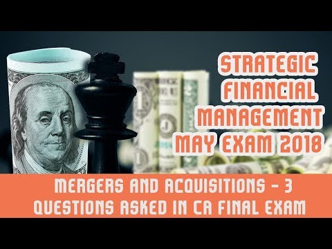 Mergers and Acquisitions  Part 3 | Questions Asked In CA Final Exam