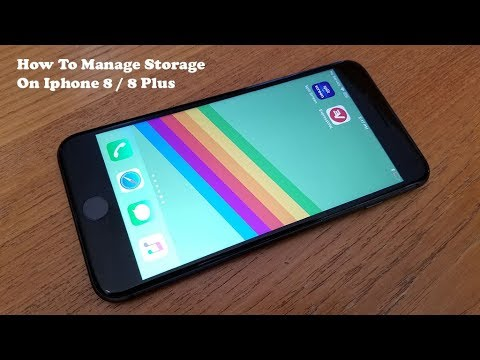 How To Manage Storage On Iphone 8 / Iphone 8 Plus - Fliptroniks.com