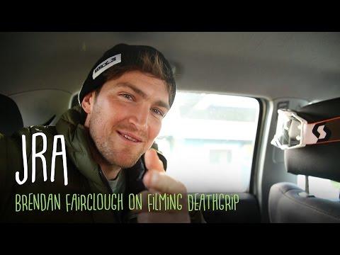 JRA - Brendan Fairclough on Filming for his Movie, Deathgrip