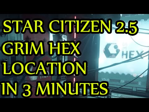 Star Citizen - How to get to Grim Hex in 3 Minutes