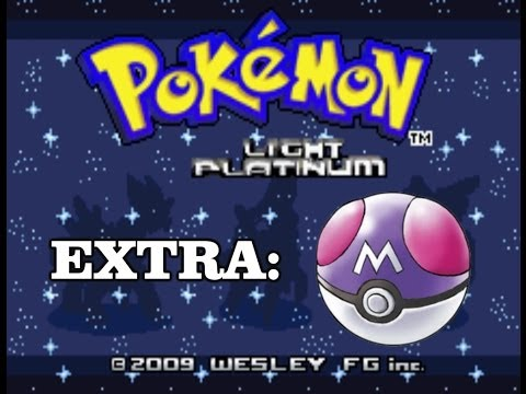 Pokemon Light Platinum Nuzlocke | EXTRA | How to get the Master Ball