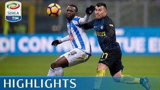Inter - Pescara 3-0 - Highlights - Giornata 22 - Serie A TIM 2016/17
