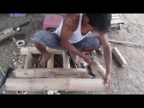 Making Bamboo Furniture - Chairs - Cris Bamboo - Subscriber Requested Video