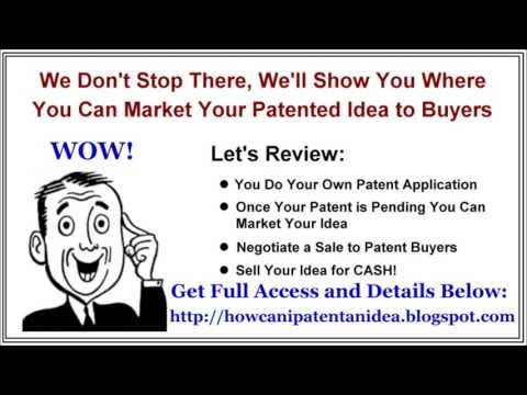 How to Patent Your Own Idea - Get a Patent without a Lawyer