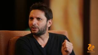 UC Browser presents Afridi Uncensored