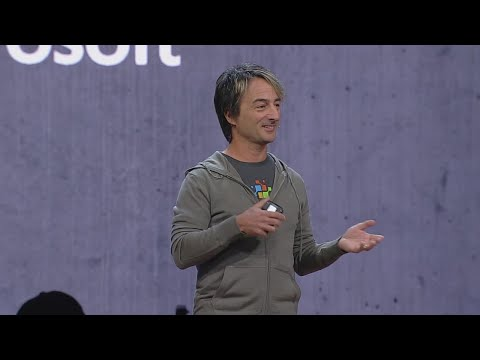 Technology Keynote: Microsoft 365: A powerful development platform : Build 2018