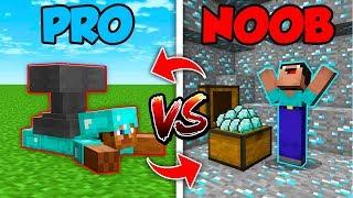 Minecraft NOOB vs. PRO : SWAPPED HIDDEN TRAP in Minecraft (Compilation)