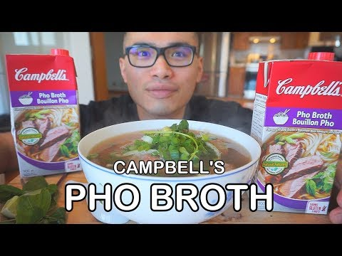 Campbells PHO BROTH *REVIEW - Will it Pho?!?!!