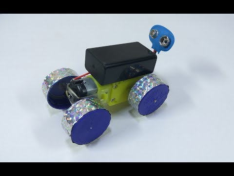How to Make a Toy Car at Home - Mini Car - Electric Car