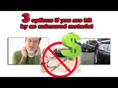 Hit by a driver with no insurance: 3 ways to still get money damages