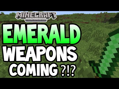 Minecraft (Xbox 360/PS3) - TU19 UPDATE! - EMERALD WEAPONS!?!?! + MORE INFO!