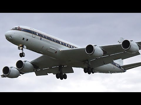 {TrueSound}™ Beautiful NASA Douglas DC-8-72 Takeoff / Landing Action at Ft. Lauderdale for CPEX 2017