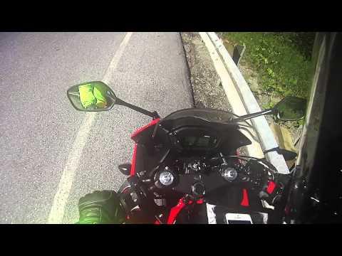 CBR 500 MOTORCYCLE CRASH