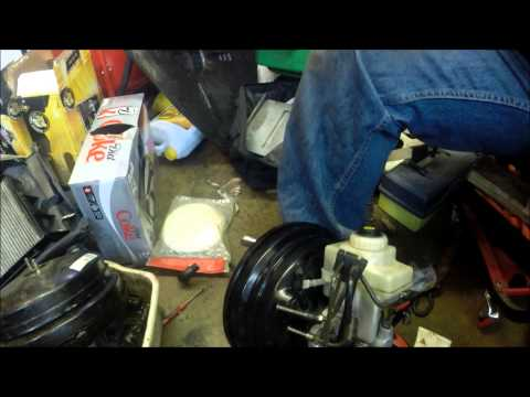 BMW 540i brake booster replacement