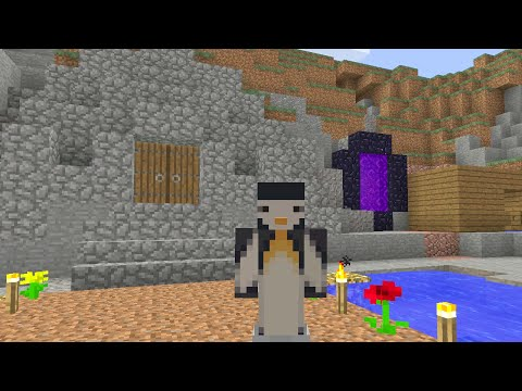 Minecraft Xbox - Series To Slay The Ender Dragon - Leaving Home [Part 9]