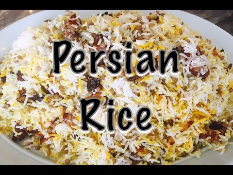 How to Make Persian Rice | Adas Polo