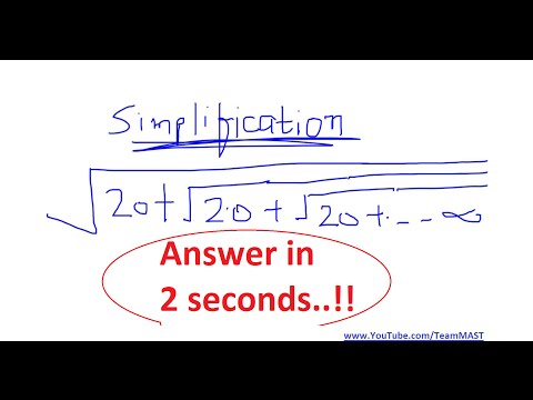 Simplification shortcut trick for bank PO exams - answer in 2 seconds | Team MAST