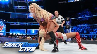 Charlotte Flair vs. Lana: SmackDown LIVE, Aug. 8, 2017
