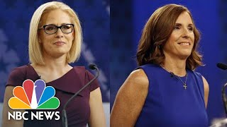 Watch These Fiery Moments From The Arizona U.S. Senate Debate | NBC News