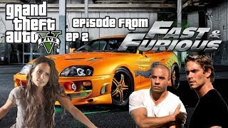 GTA5 FAST AND FURIOUS : EP 2 UNE CAISSE QUI EST DANS LES 10 ! - Mrjksaw