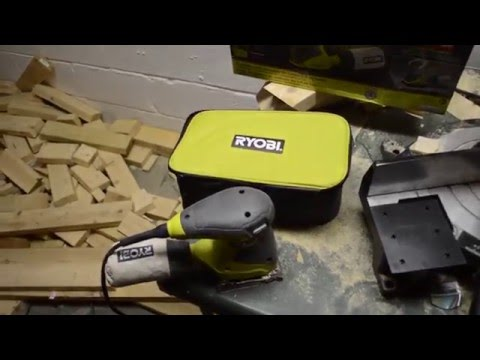Equipment Review - Ryobi Sander