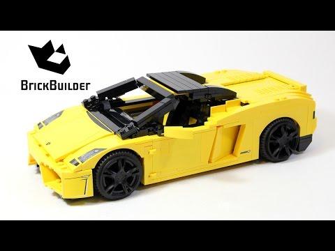 Lego Racers 8169 Lamborghini Gallardo - Lego Speed Build