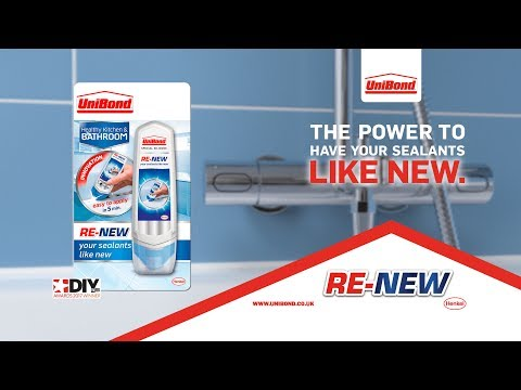 How to use UniBond Sealant RE-NEW