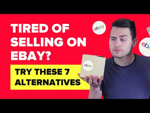The Best Alternatives to Selling Products on eBay