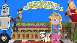 Download The Adventures of the Assistant and Wiggles Episode 5 Giorgio and the Cookie Store Video
