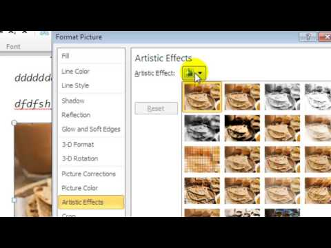 How to fade a picture in Microsoft word