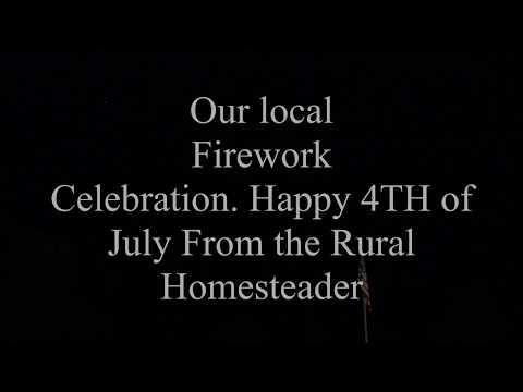 Our Local Firework Display July 2017