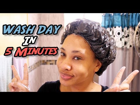 WASH DAY ROUTINE - UPDATED | High Porosity Natural Hair