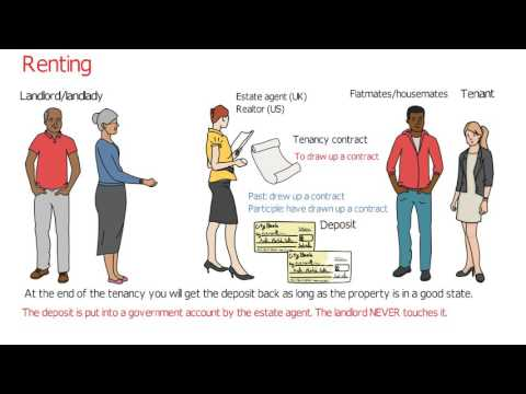 How to rent an apartment/house: English vocabulary (advanced English classes)