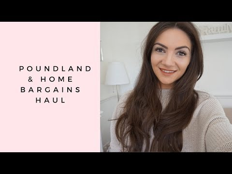 POUNDLAND & HOME BARGAINS HAUL ❤️