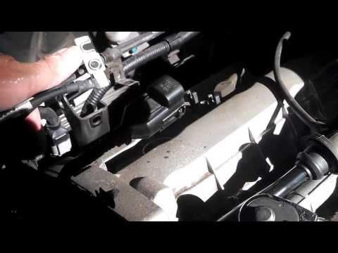 2007 Kia Sportage EX plenum/rear spark plug replacement