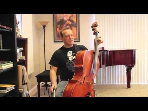 Cello Instruction: How to vibrato #5