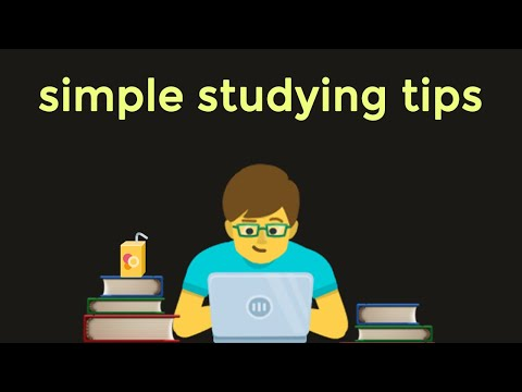 How to STUDY SMART NOT HARD | Best Studying Tips