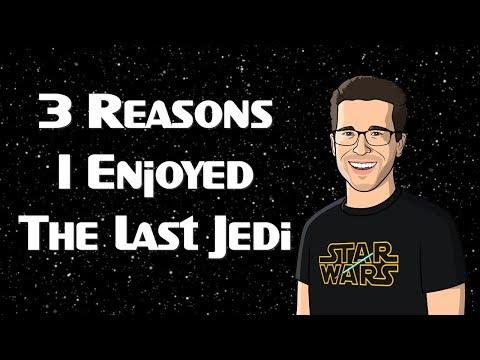 3 Reasons I Enjoyed The Last Jedi