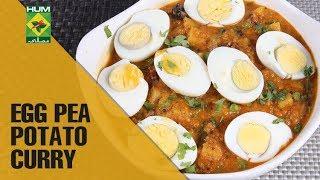 Healthy Egg Pea Potato Curry | Food Diaries | Masala TV Show | Zarnak Sidhwa
