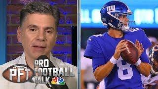 When will New York Giants make move to Daniel Jones? | Pro Football Talk | NBC Sports