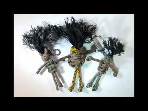How to make a Voodoo Doll Paracord Buddy