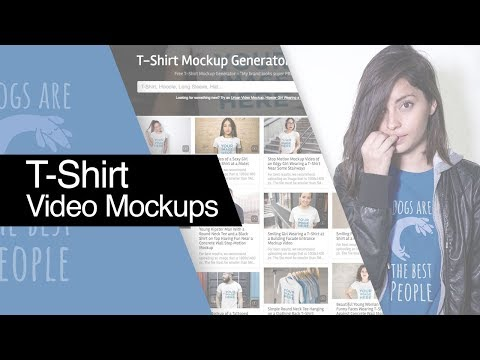 How to Make a T-Shirt Video Mockup