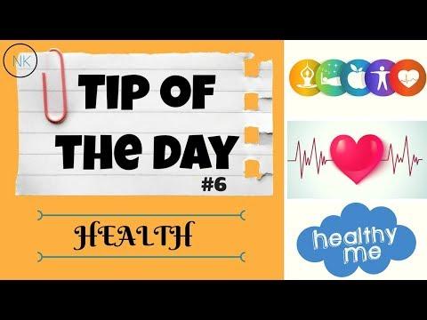 Daily Whatsapp Status Healthy Tip of the Day #6 | Health | Nainja Kapoor