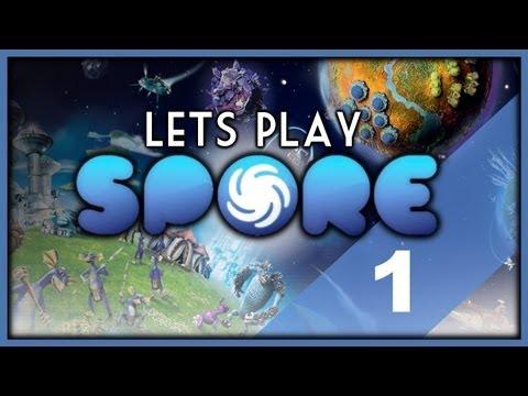Let's Play - Spore (Part 1) Planet Ninjon!