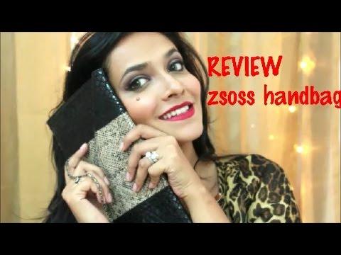 REVIEW : ZSOSS.COM  Designed my own handbag   get 10% discount